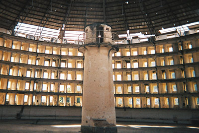 Photo of an panopticon prison
